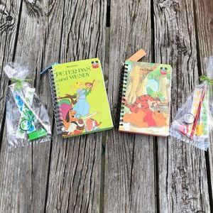 Peter Pan & Winnie Pooh Repurpose Kid Book Journal
